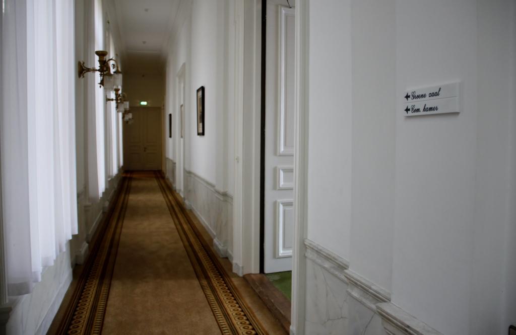 Gang naar Groene Zaal